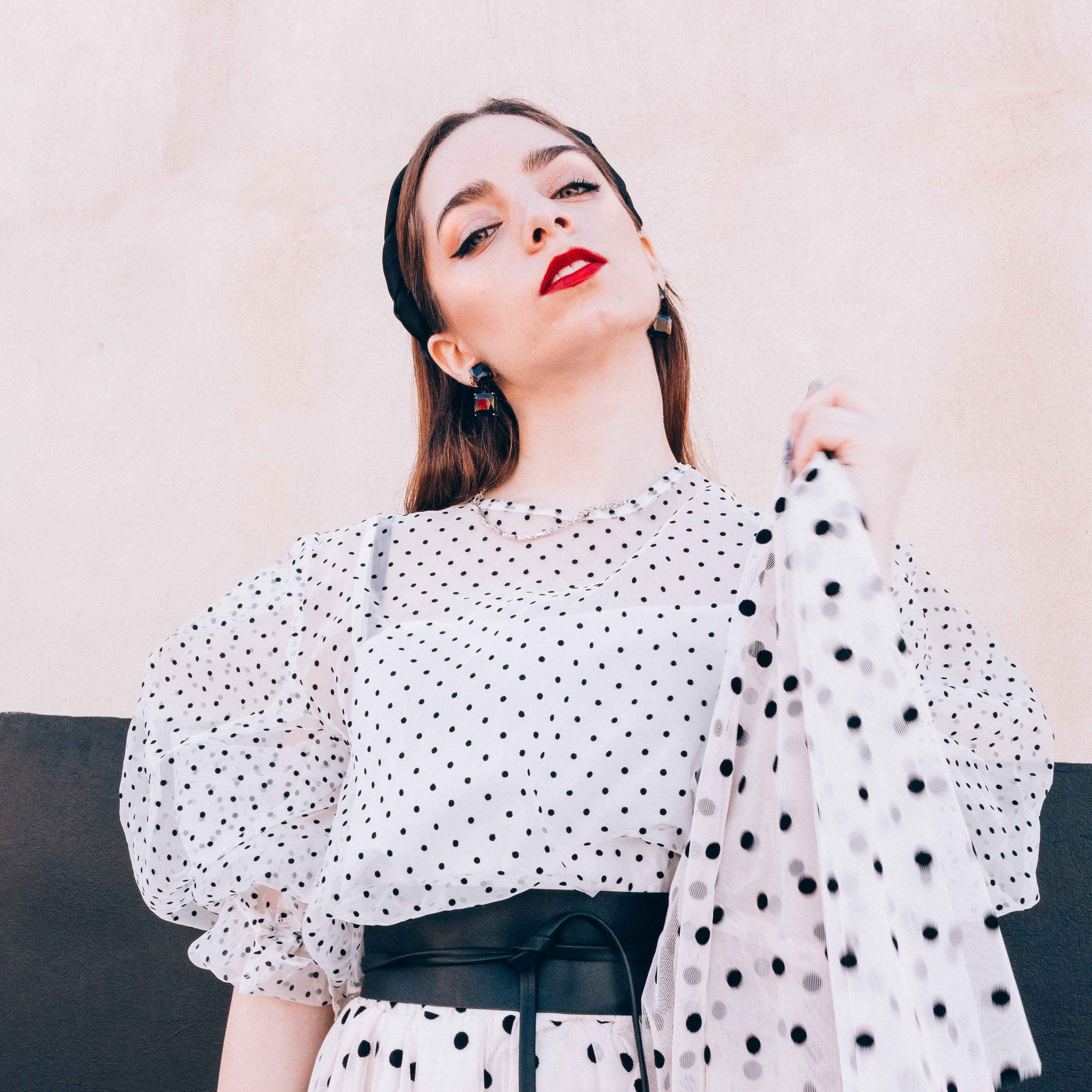 Polka Dots top tendencia